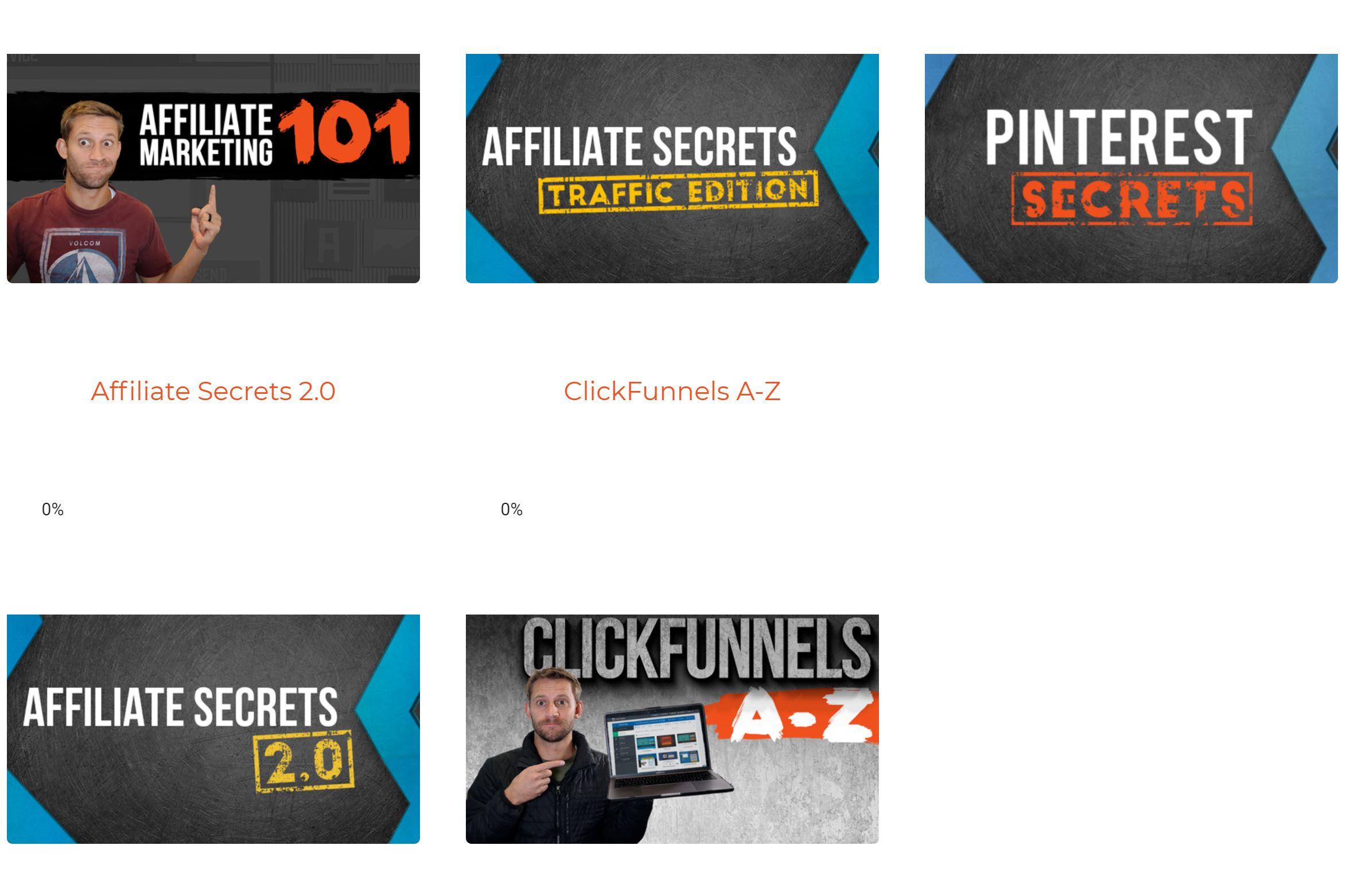 affiliate secrets courses