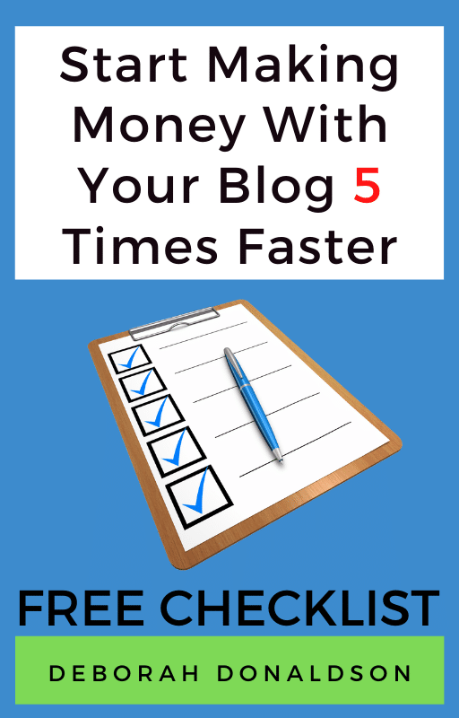 create your blog checklist