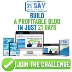 21 Day Blog Challenge